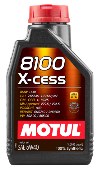 Huile moteur MOTUL 102784 (X1)
