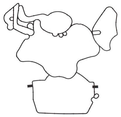 Joint de carter de vilebrequin ELRING 122.472 (X1)