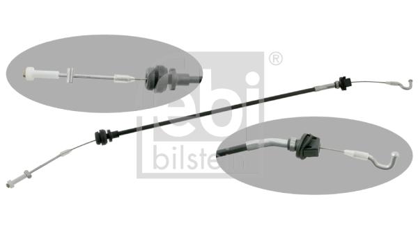 Cable d'accelerateur FEBI BILSTEIN 01762 (X1)