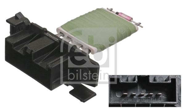 Resistance moteur de ventilateur de chauffage FEBI BILSTEIN 100043 (X1)