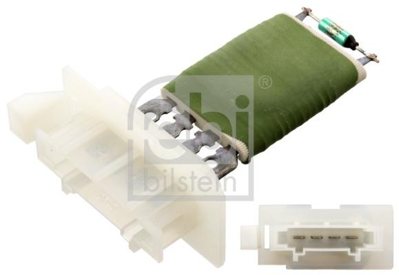 Resistance moteur de ventilateur de chauffage FEBI BILSTEIN 102584 (X1)