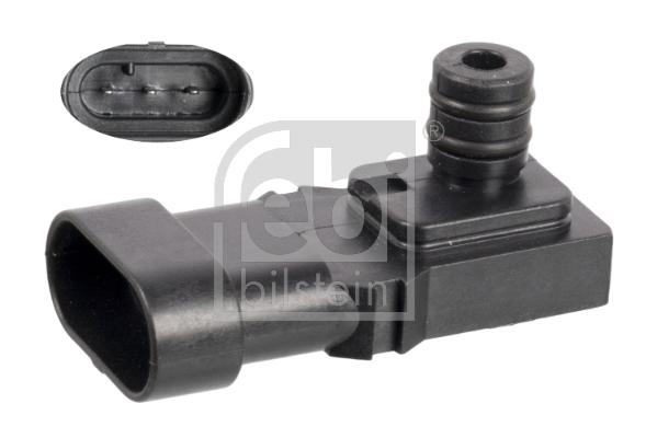 Capteur, pression du tuyau d'admission FEBI BILSTEIN 106967 (X1)