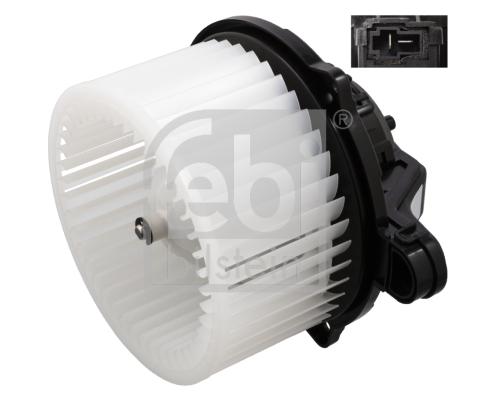 Moteur de ventilateur de chauffage FEBI BILSTEIN 107390 (X1)