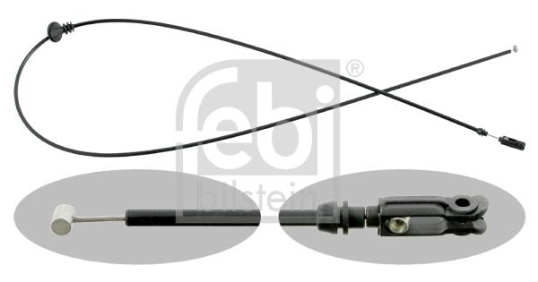 Cable d'ouverture capot FEBI BILSTEIN 15174 (X1)