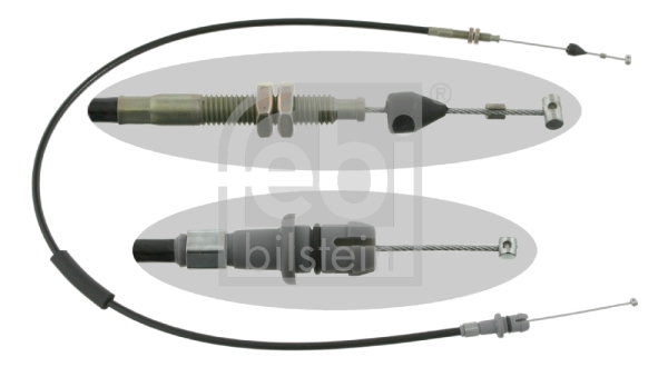 Tirette à câble, boîte automatique FEBI BILSTEIN 15750 (X1)