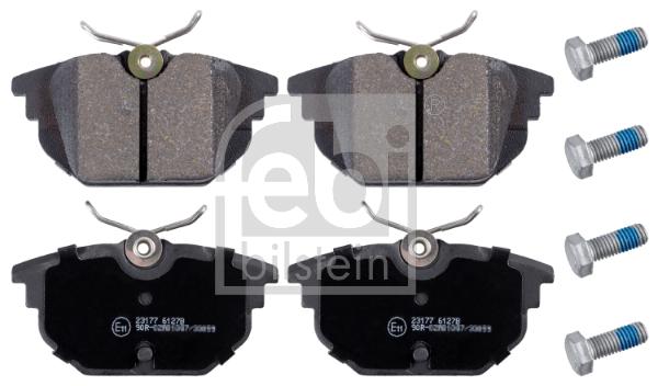 Plaquettes de frein arriere FEBI BILSTEIN 16172 (X1)