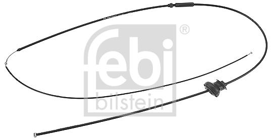 Cable d'ouverture capot FEBI BILSTEIN 18731 (X1)