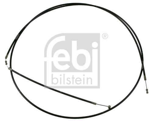 Cable d'ouverture capot FEBI BILSTEIN 21187 (X1)