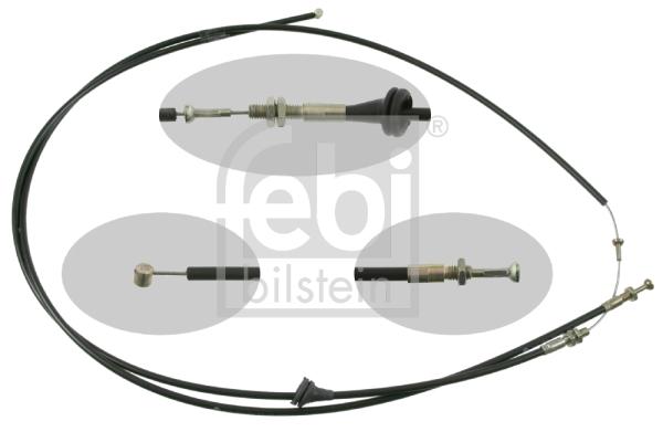 Cable d'ouverture capot FEBI BILSTEIN 21213 (X1)