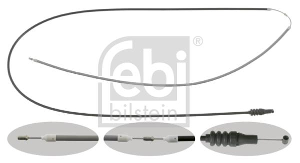 Cable d'ouverture capot FEBI BILSTEIN 26682 (X1)