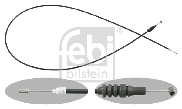 Cable d'ouverture capot FEBI BILSTEIN 26683 (X1)
