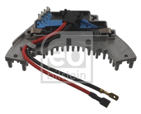 Resistance moteur de ventilateur de chauffage FEBI BILSTEIN 37111 (X1)