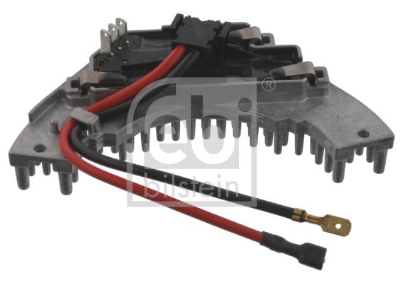 Resistance moteur de ventilateur de chauffage FEBI BILSTEIN 37121 (X1)