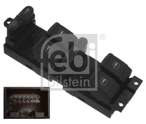 Interrupteur, leve-vitre FEBI BILSTEIN 37644 (X1)