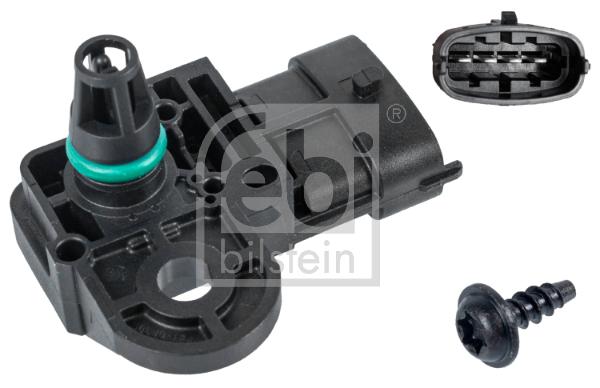 Capteur, pression du tuyau d'admission FEBI BILSTEIN 38493 (X1)