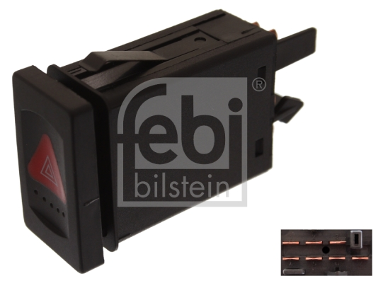 Commandes Eclairages / Signalisation/ Essuyage FEBI BILSTEIN 44701 (X1)