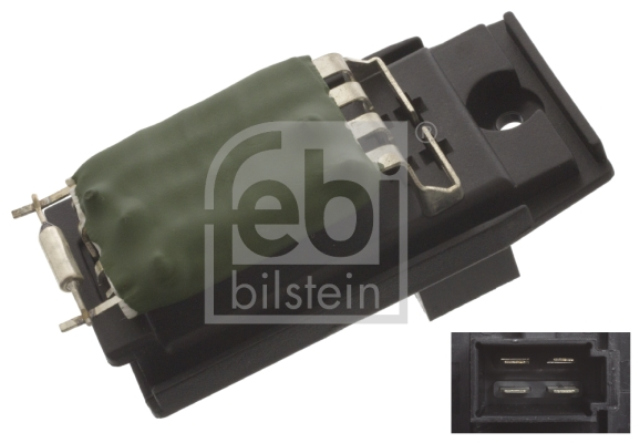Resistance moteur de ventilateur de chauffage FEBI BILSTEIN 45415 (X1)