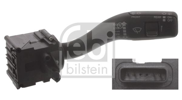 interrupteur, commande essuie glace FEBI BILSTEIN 45702 (X1)