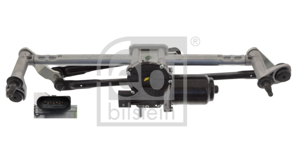Mecanismes d'essuie glace FEBI BILSTEIN 48699 (X1)