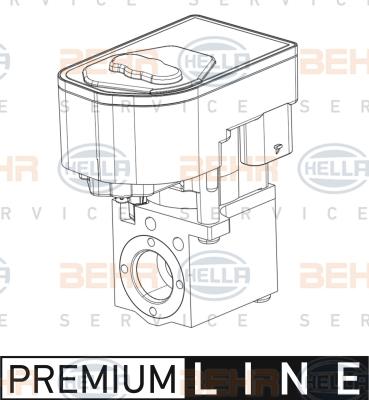 Detendeur de climatisation BEHR HELLA SERVICE 8UW 351 008-381 (X1)
