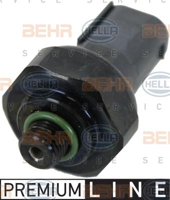 Pressostat de climatisation BEHR HELLA SERVICE 6ZL 351 028-391 (X1)