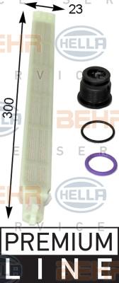 Bouteille deshydratante BEHR HELLA SERVICE 8FT 351 193-211 (X1)