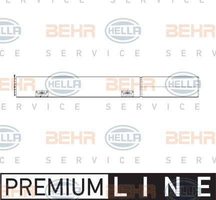 Bouteille deshydratante BEHR HELLA SERVICE 8FT 351 197-661 (X1)