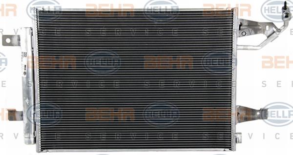 Condenseur / Radiateur de climatisation BEHR HELLA SERVICE 8FC 351 304-761 (X1)