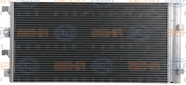 Condenseur / Radiateur de climatisation BEHR HELLA SERVICE 8FC 351 319-291 (X1)