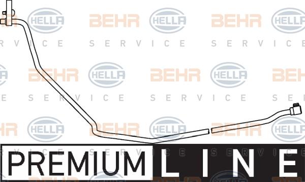 Flexible de climatisation BEHR HELLA SERVICE 9GS 351 337-081 (X1)