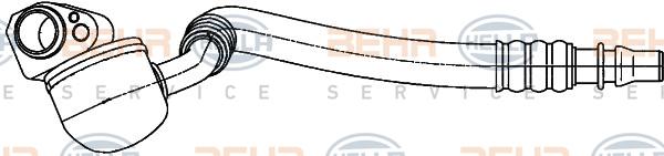 Tuyau de climatisation BEHR HELLA SERVICE 9GS 351 338-181 (X1)