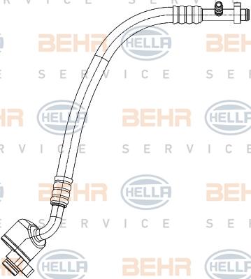 Tuyau de climatisation BEHR HELLA SERVICE 9GS 351 338-621 (X1)