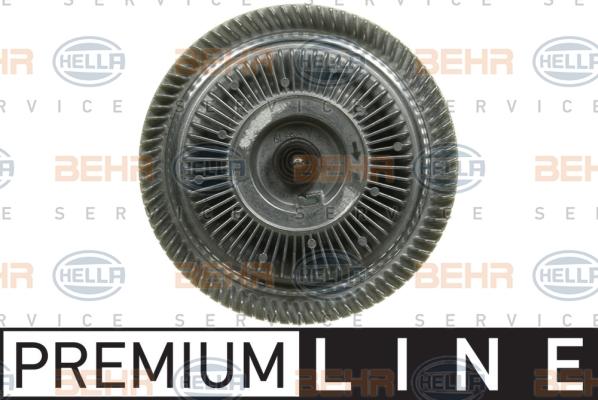 Embrayage de ventilateur refroidissement BEHR HELLA SERVICE 8MV 376 702-101 (X1)