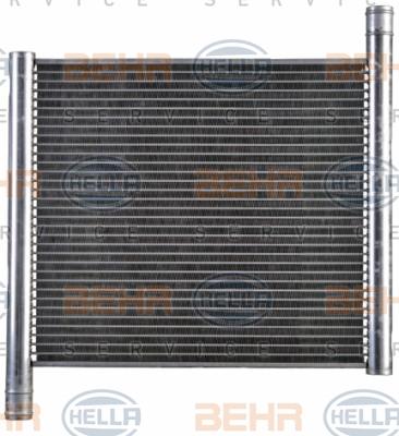 Radiateur de refroidissement BEHR HELLA SERVICE 8MK 376 712-551 (X1)