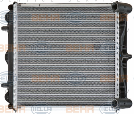 Radiateur de refroidissement BEHR HELLA SERVICE 8MK 376 713-794 (X1)