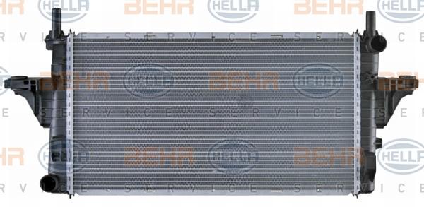 Radiateur de refroidissement BEHR HELLA SERVICE 8MK 376 719-754 (X1)