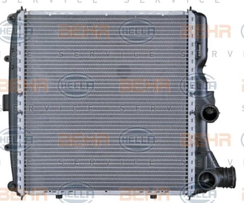 Radiateur de refroidissement BEHR HELLA SERVICE 8MK 376 730-581 (X1)