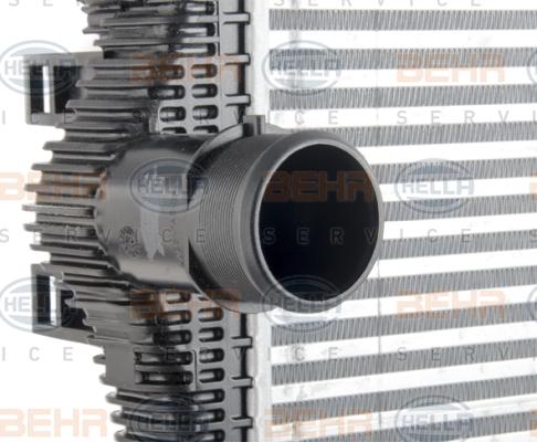 Intercooler radiateur de turbo BEHR HELLA SERVICE 8ML 376 777-671 (X1)