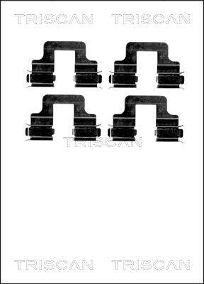 Kit de montage plaquettes de frein TRISCAN 8105 101629 (X1)