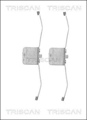 Kit de montage plaquettes de frein TRISCAN 8105 101632 (X1)