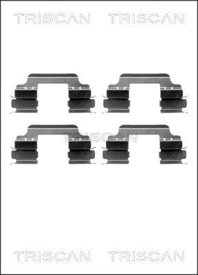 Kit de montage plaquettes de frein TRISCAN 8105 101635 (X1)