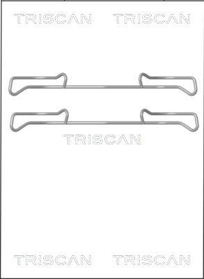 Kit de montage plaquettes de frein TRISCAN 8105 101642 (X1)