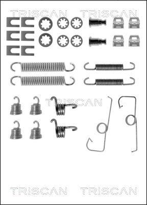 Kit de montage machoires de frein TRISCAN 8105 102512 (X1)