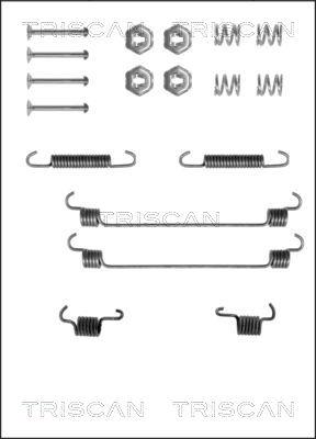 Kit de montage machoires de frein TRISCAN 8105 102525 (X1)