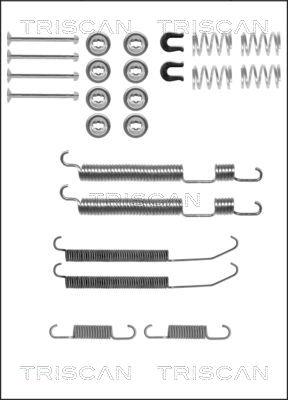 Kit de montage machoires de frein TRISCAN 8105 102583 (X1)