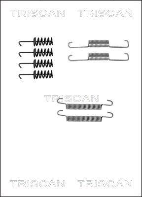 Kit d'accessoires mâchoires de frein de stationnement TRISCAN 8105 102585 (X1)