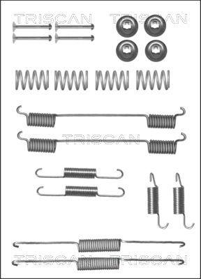 Kit de montage machoires de frein TRISCAN 8105 102604 (X1)
