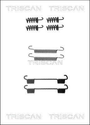 Kit d'accessoires mâchoires de frein de stationnement TRISCAN 8105 102605 (X1)