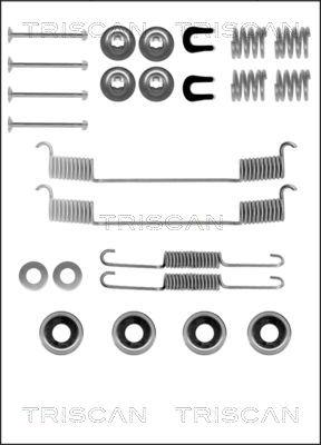 Kit de montage machoires de frein TRISCAN 8105 142504 (X1)