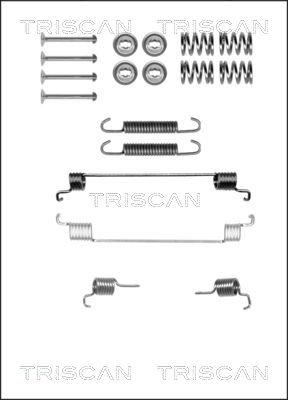 Kit de montage machoires de frein TRISCAN 8105 152540 (X1)